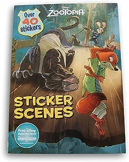 Lazy Days Zootopia Sticker Scenes Activity Book