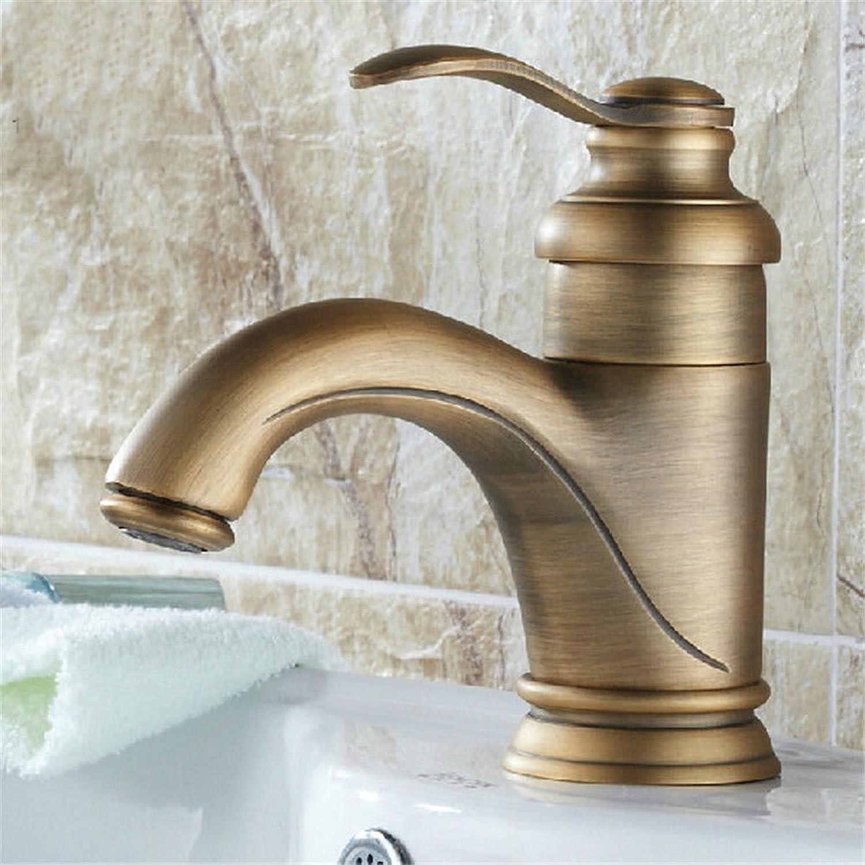 Lvsede Bad Wasserhahn Design Küchenarmatur Niederdruck Badezimmer Hei Und Kalt Kupfer Retro-Aufsatzbecken Wasserhahn I651