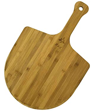 Bamboo Pizza Peel - Extra Large Pizza Paddle - Wooden Pizza Board
