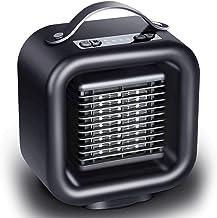 CCFCF Mini Calefactor Cerámico,Calentador De Espacio Eléctrico Portátil,Personal para Cuarto/Baño/Oficina