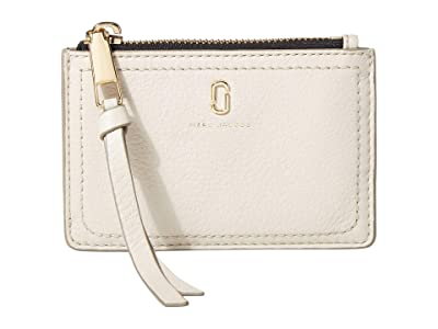 Marc Jacobs Top Zip Multi Wallet (Cream) Wallet Handbags