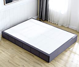 TATAGO 3000lbs Max Weight Capacity 9 Inch Heavy Duty Metal Box Spring Mattress Foundation, Extra-Strong Support & Non-Slip, No Noise, Easy Assembly, King