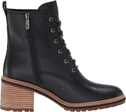 Black Full Grain Leather