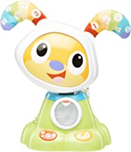 Mattel Perro Fisher Price guau Perrito Robot Canciones y aprendizajes, FJB45