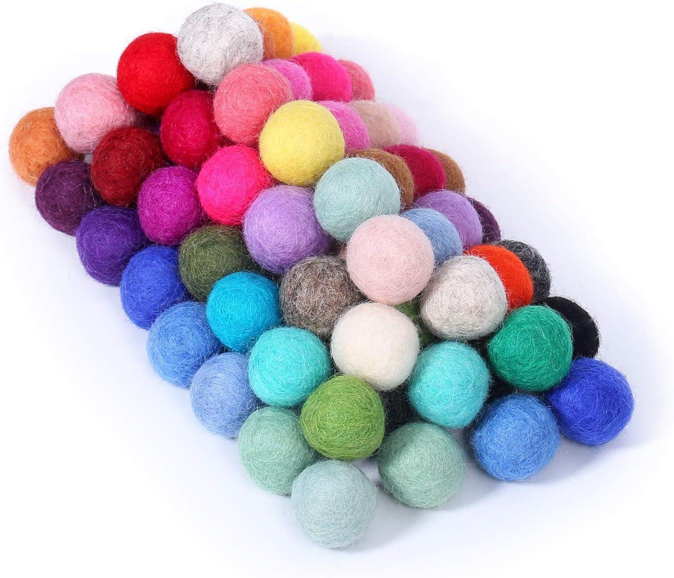 Wool Felt 5 mm 8.5 cm round