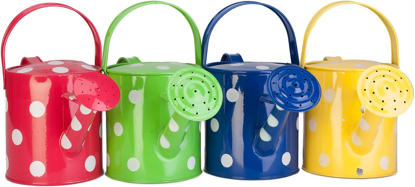 PANACEA PRODUCTS CORP 1 2 gallon Recommended Color Watering Can Dot Great interest Polka