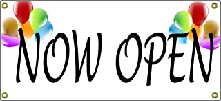 Now Open Banner Retail Store Shop Business Sign 36