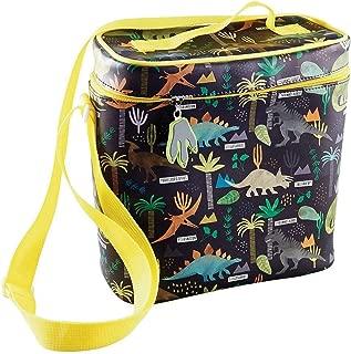 Dinosaur Lunchbag with Detatchable Strap & Drinks Holder