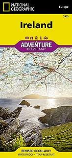 Ireland (National Geographic Adventure Map)
