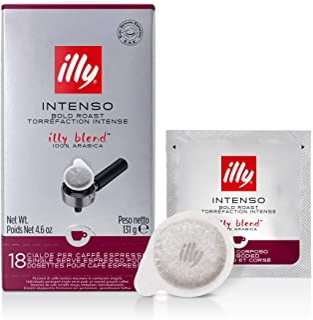 Illy Caffè espresso in Cialde E.S.E. Monodose Tostato Intenso