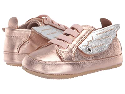 Old Soles Bambini Wings (Infant/Toddler) (Copper/Silver) Girls Shoes
