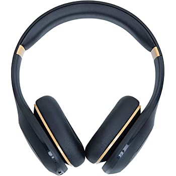 Mi Super Bass On Ear Bluetooth Headphones with Super Powerful bass with Microphone (Black & Gold)