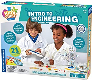 Thames & Kosmos Kids First Intro to Engineering Kit, multi-colored, standard