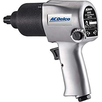 "ACDelco ANI405A Heavy Duty Twin Hammer ½"" 500 ft-lbs. Pneumatic Impact Wrench Tool Kit"