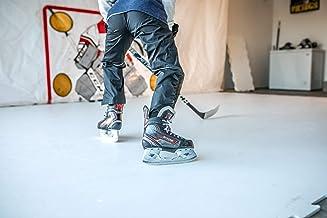 یخ مصنوعی Snipers Edge (32 SQ Ft Per Pack) ، کاشی های خود روان کننده برای اسکیت در هر زمان با بازارهایی که یخ مصنوعی در حال برش بیشتر است - برای گاراژ ، زیرزمین ، درایوها و موارد دیگر - در ایالات متحده ساخته شده است
