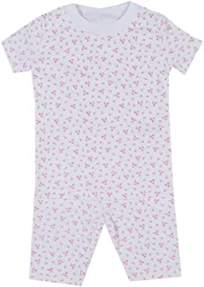 bc7e300f4 Kissy Kissy Baby-Girls Infant Little Girl's Dreams Short Pajamas Set-White  With Lilac