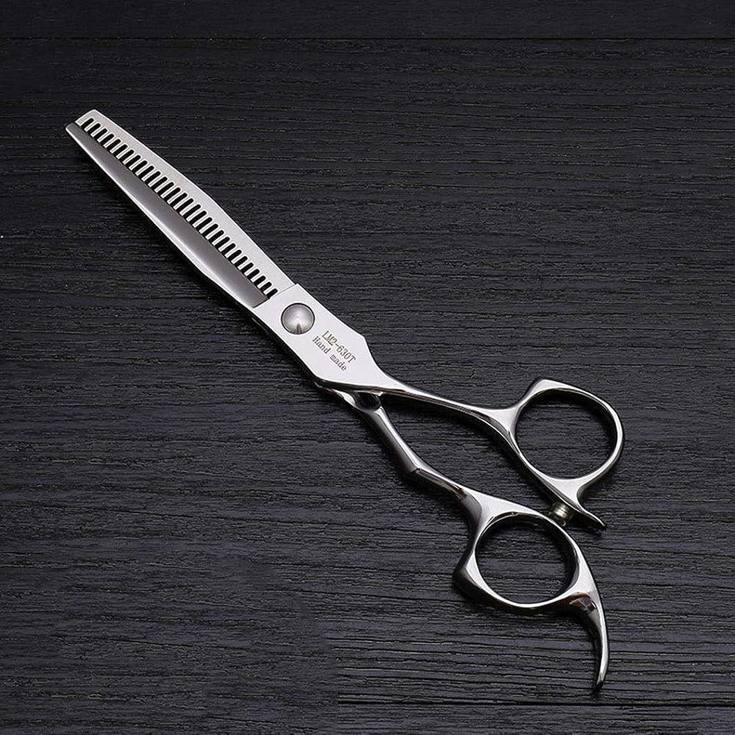 銀行作曲家署名6インチのステンレス鋼の理髪はさみ、美容院の毛の切断用具 モデリングツール (色 : Silver)