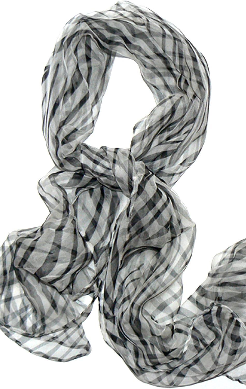 Silksalon Oblong 100% Silk Scarf Belt Hand Rolled Edges A773