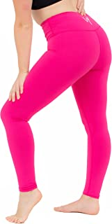 Wear Yourself High Waisted Super Cozy Full Length Leggings for Women - Tummy Control Workout Gym Yoga Pants