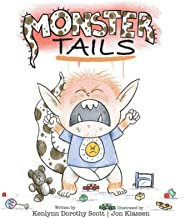 Monster Tails: A Green-Eyed Boy Named Harvey