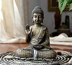 PPCP Buddhist Supplies # Bless Home Health Luck Offiice Efficacious Protection Old Retro Sitting Buddha Statue