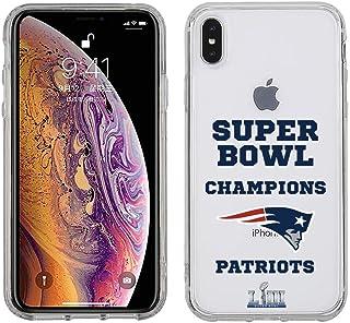 Prime Brands Group NFL-SB53CLP-IPXSMAX-PATS Apple iPhone Xs Max - NFL Licensed New England Patriots LIII Super Bowl Champi...