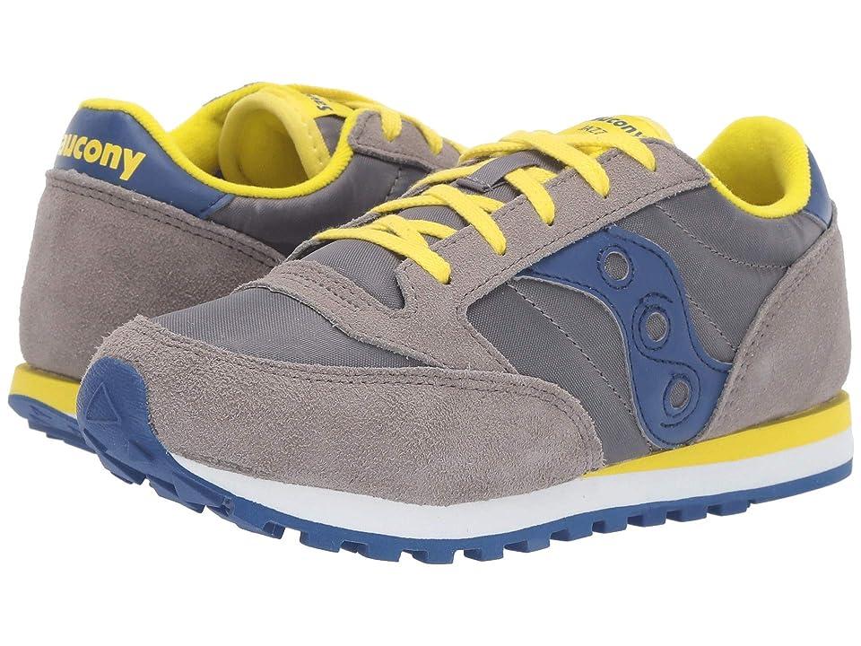 Saucony Kids Originals Jazz Original (Little Kid/Big Kid) (Grey/Blue) Boys Shoes