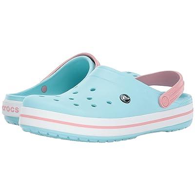 Crocs Crocband Clog (Ice Blue/White) Clog Shoes