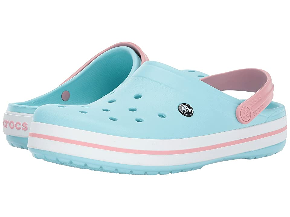 Crocs Crocband Clog (Ice Blue/White) Clog Shoes