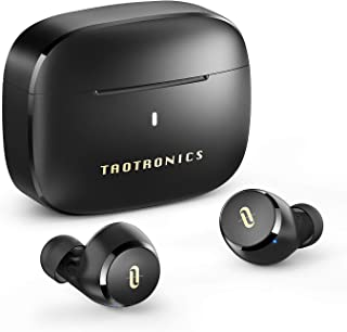 TaoTronics ワイヤレスイヤホン apt-X対応/Type-C充電対応 / イヤホン単体9時間再生 / 合計36時間再生 / 快適な装着感 Bluetooth5.0 フルワイヤレス イヤホン 自動ペアリング SoundLiberty 9...