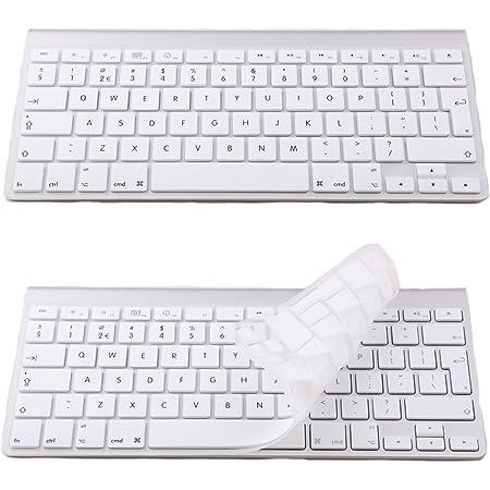 Funda de silicona para teclado inalámbrico de Macbook Pro, blanco