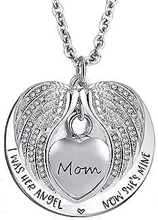 my mom is my angle