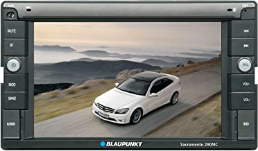 Blaupunkt SACRAMENTO  290MC 6.1-inch Touch Screen Multimedia Car Stereo Receiver with Bluetooth and Remote Control