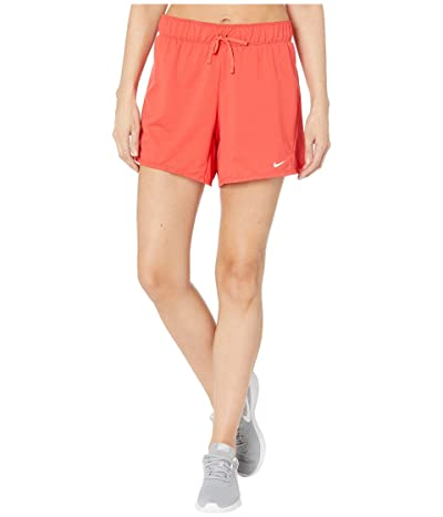 Nike Dry Shorts Attack 2.0 TR 5 (Track Red/White) Women