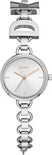 DKNY Soho - Reloj de cuarzo para mujer, de acero inoxidable