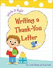 Writing a Thank-You Letter (Write It Right)