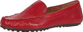 حذاء بدون كعب سهل الارتداء للنساء من Aerosoles, (جلد أحمر), 39 EU