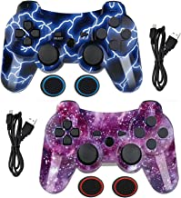 $25 » Wireless Controller for PS3 Controller,Built-in Dual Vibration Gamepad Compatible for Playstation 3,with Charger Cable and...