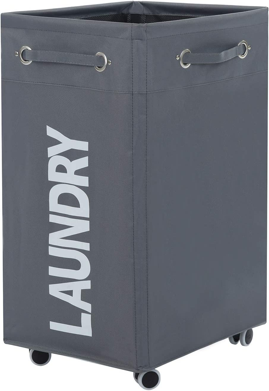 Haundry 86L X-Large Collapsible Laundry Great interest Wate with Hamper Wheels Max 48% OFF