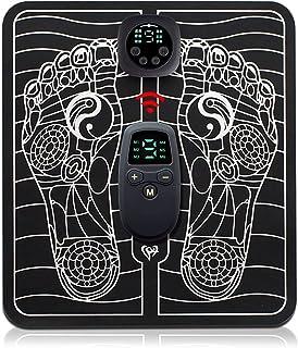 Foot Massage Mat, Electric EMS Foot Massager, Beauty Shaping Muscle Leg Electric Massager Cushion for Father Boyfriend Men...