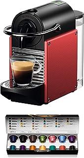 Nespresso Kaffekapselmaskin, 19 bar, med automatisk avstängning 2019 röd