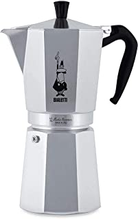 Bialetti Moka Express Export Espresso Maker, Silver