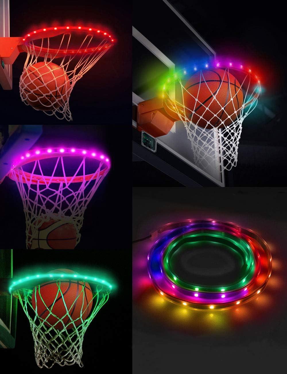 shop SeaELF LED Purchase Basketball Hoop W Strip Rim Lights