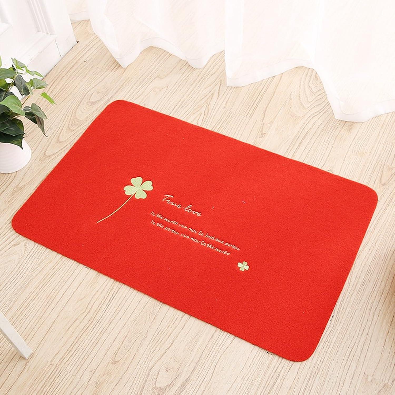 Carpet Doormat Indoor mats Door,Indoor mats Living Room,Bathroom,Kitchen,Anti-Slipping mats Mats in The Hall-A 60x90cm(24x35inch)