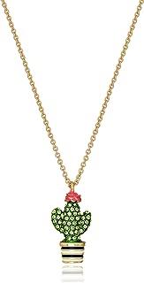 Cactus Mini Pendant Necklace