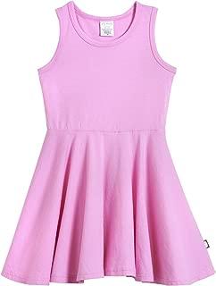 pink summer dress school