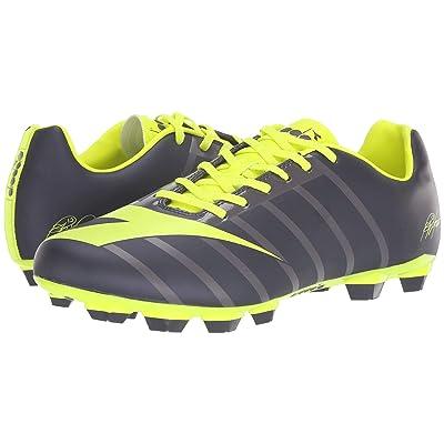 Diadora RB2003 R LPU (Nine Iron/Yellow Fluo) Soccer Shoes