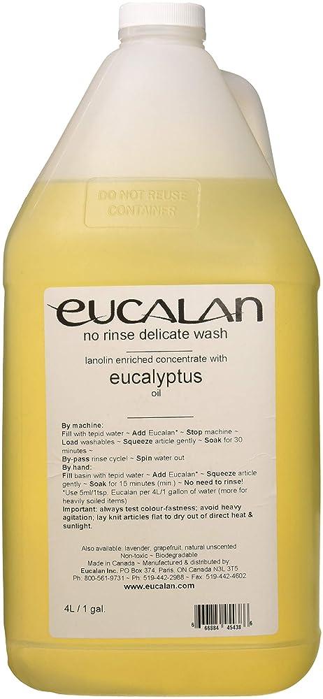 全体航空会社文明化Eucalan 罰金ファブリック洗浄ガロン水差しユーカリ