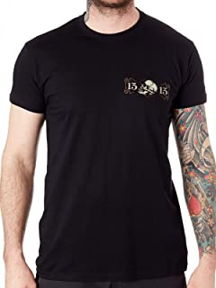 Lucky 13 Black Never Die T-Shirt (Xxxxl, Black)