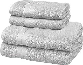 SOHYGGE – Lot Serviette de Bain (4 pcs), 100% Coton 500gr/m2, Écologique sans Produit Chimique Oeko-TEX – 2 x Drap de Bain...